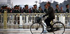 But since 2011, possibly prompted by 62-mile, nine-day traffic jams and mutinous U.S. consulates reporting on China's air quality, the Chinese government has made a U-turn in transportation policy, encouraging its citizens to get back in the saddle through bike share programs.