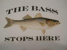 """Bass Stops Here"" Tee"