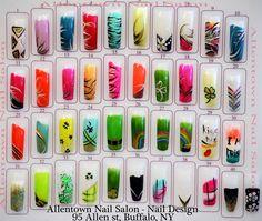 Image salon design nail designs hosted in Life Trends 1 Nail Salon Design, Nail Art Salon, Nail Salons, Simple Nail Designs, Nail Art Designs, Stone Nail Art, Japan Nail, Multicolored Nails, Airbrush Nails