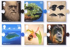 Charles Darwin - 12 February 2009 - stamps and miniature sheet