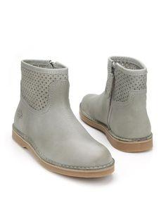 Chaussures Gris Aqa Avec Fermeture À Glissière Pour Les Femmes aifSRzLn