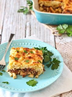 Move over, lasagna! This pastitsio is a Greek baked pasta dish and will wow your family and friends!