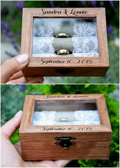 Creative Ring Boxes | Editor's Etsy Picks via knotsvilla.com