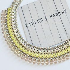 Add a little glam to your outfit and shop your favourite piece of jewelry @parlorandpantry! 😍 juniiq jewelry is proud to be part of Parlor&Pantry: Purchase with purpose and support small businesses right around you corner! 😉 #juniiqjewelry #handmade #statement  #necklace #parlorandpantry #shoplocal #shopsmall #sticktolocal #thecitybeautiful #orlandoblgger
