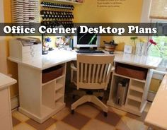 a corner computer desk is a great way to save floor space in a crowded home - Corner Computer Desks