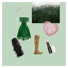"""Forest girl"" by zysel on Polyvore featuring Free People, idresses, Bling Jewelry, women's clothing, women, female, woman, misses and juniors"