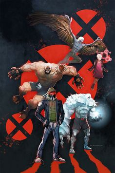 What if the mutants of the X-Men were truly mutated?