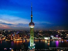 The Oriental Pearl Tower