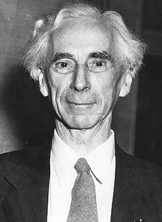 Bertrand Russell after his award of the Nobel prize for literature was announced, Nov. 10, 1950.
