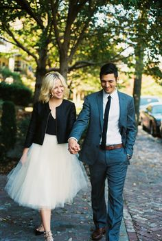 If you show up to your engagement session in a tutu skirt I will be seriously excited. -Alison