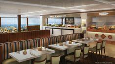 """MSC Cruceros presenta el """"Flexi Dining"""" que estaá disponible a bordo del MSC Meraviglia y el MSC Sea Side. Te detallamos en que consiste!"""
