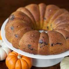 This incredibly moist homemade Pumpkin Chocolate Chip Bundt Cake has just the right amount of sweet.