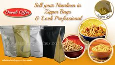 #sell your #Namkeen #Food #Packaging in #zipperBags and Look Professional.