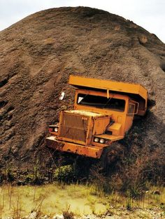 Truck in mud mtn.