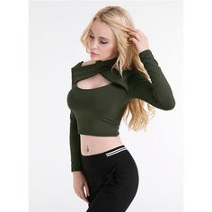 Women O-Neck bare midriff Sheath T-shirt,Web Celebrity Backless Shirt,Nightclub Sexy Hollow Out Tops Girls Fashion Clothing