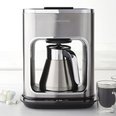 Williams-Sonoma Signature Touch 10-Cup Thermal Coffee Maker - deciding between this and the Bialetti