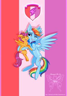 MLP: Rainbow Dash And Scoolatoo