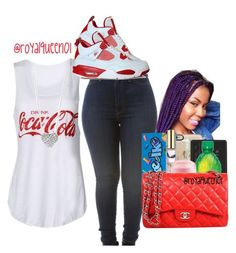 """""""Coca-Cola°"""" by royalqueen01 ❤ liked on Polyvore featuring moda, Michael Kors ve Retrò"""