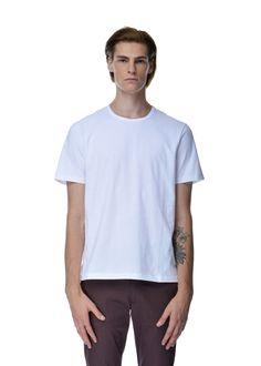 Acne Studios - Fall Winter 2015 - Menwear // White Eddy T-Shirt