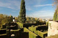 Generalife gardens -Alhambra Palace  Granada