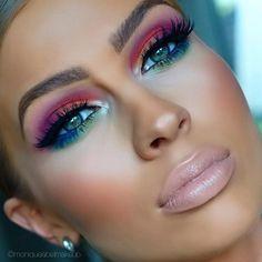 Eye Makeup Tips.Smokey Eye Makeup Tips - For a Catchy and Impressive Look Makeup Goals, Makeup Inspo, Makeup Art, Makeup Ideas, Makeup Salon, Easy Makeup, Mua Makeup, Makeup Geek, Makeup Trends