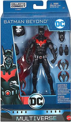 DC Multiverse Lobo Series Batman Beyond Action Figure [Terry McGinnis] – Action Figures Batgirl, Nightwing, Batman Do Futuro, Dc Comics Action Figures, Batman Figures, Batman Art, Batman Robin, Superman, Batman Beyond Terry