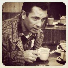 Jack Kerouac: Clique na foto para garantir livros da Beat Generation.