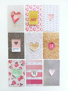 Valentine Notes by Maria Lacuesta at Crate Paper