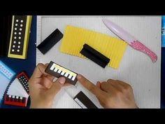 acordeón en papel The Creator, Youtube, Party, Blog, Crafts, Diy, Origami, Scrapbooking, Inspirational
