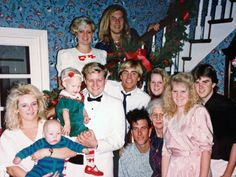 Christmas was better in the 80s. The Vistaunet Family in 1989.