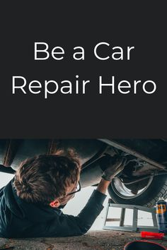 You can fix it. You just need the manual. Manual, Software, Hero, Textbook