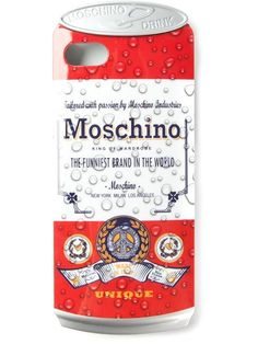 Shop Moschino Drink Moschino Iphone 5 case in Papini from the world's best independent boutiques at farfetch.com. Over 1000 designers from 60 boutiques in one website.