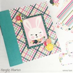 enter description here Hip Hop Hooray, Bunny Images, Diy And Crafts, Paper Crafts, Spring Design, Handmade Tags, Simple Stories, Some Ideas, Cute Bunny