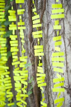 Paper Garland // Available in ANY COLOR // by MollyCatDesigns, $15.00 Party Garland, Garland Wedding, Neon Party, For Your Party, Ink Color, Bright Green, White Ink, Backdrops, Paper Garlands