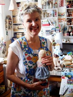 Studio tour with Julie Arkell. Julie Arkell is a contemporary folk artist working in paper-mache and mixed media. She lives and works out of her home in Islington, London.