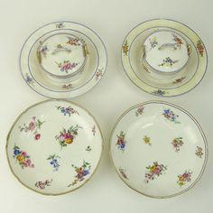 Collection of Four (4) 18th Century Sevres Porcelain : Lot 61