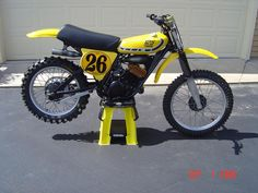 1976 Yamaha YZ125C with DG head and pipe.
