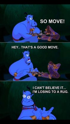 47 Ideas Quotes Disney Aladdin Robin Williams For 2019 Humour Disney, Disney Jokes, Funny Disney Memes, Disney Funny Moments, Cartoon Memes, Disney Cartoons, Anna Y Elsa, Pinturas Disney, Flynn Rider