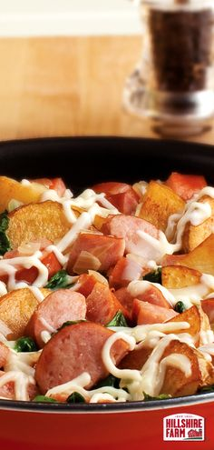 It's called supreme for a reason. Enjoy in large doses. Find the Supreme Hash with Hillshire Farm® Smoked Sausage recipe here. Smoked Sausage Recipes, Pork Recipes, Crockpot Recipes, Great Recipes, Cooking Recipes, Favorite Recipes, Healthy Recipes, Casserole Recipes, Delicious Recipes