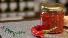 Marmeláda zchilli, zázvoru a česneku — Recepty — Kouzelné bylinky — Česká televize Home Canning, Kimchi, Preserves, Pickles, Chili, Salsa, Jar, Stuffed Peppers, Vegetables