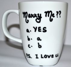 Marry Me  Funny Valentines Day Gift  Proposal by DreamAndCraft, $15.00