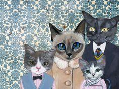 Family Portrait by Heather Mattoon