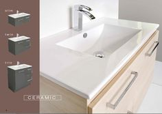 Bathroom Renovations Hornsby caroma opal 720 wall basin with left hand shelf with shroud