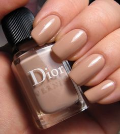 Most people immediately notice another person's hands. Keep your nails nicely manicured. If choosing polish, keep it neutral like this beige.