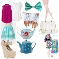"""Ever After High Maddline Hatter"" by crdbaby on Polyvore"