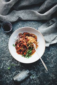 Black Lentil & Vegetable Bolognese | Green Kitchen Stories | Bloglovin'