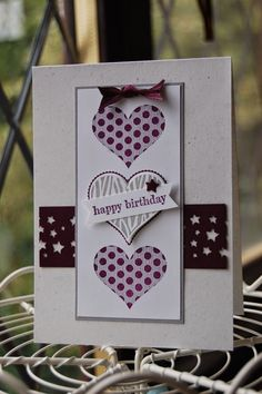 Stampin'spiration: Groovy Love for a Birthday Card