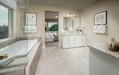 What word would you use to describe this luxurious bathroom? Rustic Bathrooms, Dream Bathrooms, Modern Bathroom, Master Bathroom, Interior Design Pictures, Bathroom Interior Design, Luxury Bathroom Vanities, Small Bathroom Layout, Baths For Sale