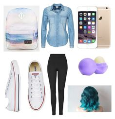"""""""Untitled #6"""" by mburnside on Polyvore featuring Vero Moda, Topshop, JanSport and Eos"""
