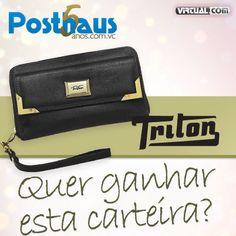 Promoção 5 anos Posthaus do blog Modaposthaus, com uma linda bolsa da Triton